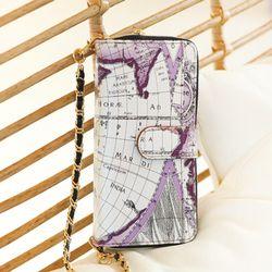 갤럭시S10 (G973) Mapa-H 지퍼 지갑 다이어리 케이스