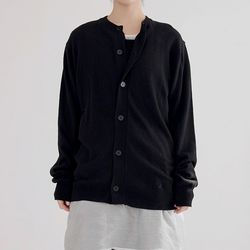 round cashmere cardigan (2colors)