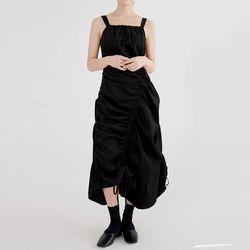 sensual drape dress (black)