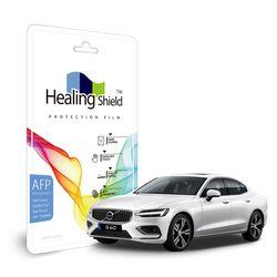 볼보 S60 2019 공조기 LCD 올레포빅 액정보호필름 2매