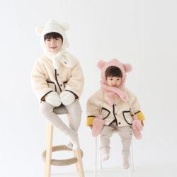 [무료배송] 미니베어 유아 겨울 모자 아동 머플러 목도리 장갑 넥