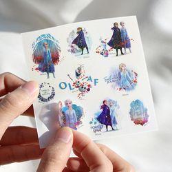 디즈니 겨울왕국 2 홀로그램 스티커