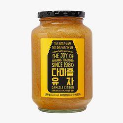 다미즐 봉밀 유자차  2kg