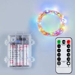 어반 LED 와이어전구 방수형 구리선 컬러