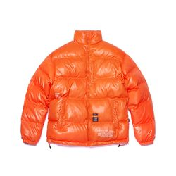 FLIGHT SHORT PADDING JACKET ORANGE
