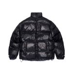 FLIGHT SHORT PADDING JACKET BLACK