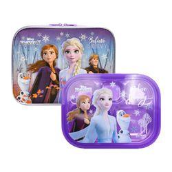 겨울왕국2 예쁜가방 스텐 식판세트