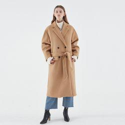 WOOL PUFF DOUBLE COAT BEIGE