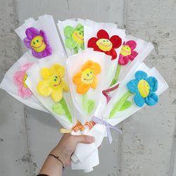 프리미엄 스마일꽃 한송이  꽃다발 8컬러