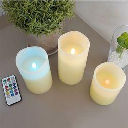 루마 LED 캔들 3P세트