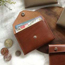 2-way Card Case-Brown