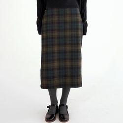 gradation check skirts (2colors)