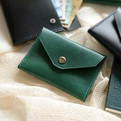 2-way Card Case-Green