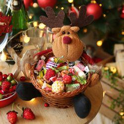 크리스마스 사탕바구니 (루돌프)