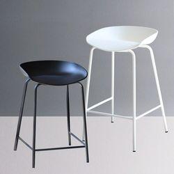 알렉스 홈바 의자 높이 2가지 바체어 철제 식탁의자