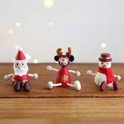 크리스마스 장식 소품 나무 꼬마인형 - 막스(MARKS)