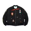 BLACK PANTHER OVERSIZED MA-1 JACKET BLACK