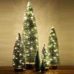 LED 미니 크리스마스트리 6종 풀세트 (10+15+20+30+40+60cm)
