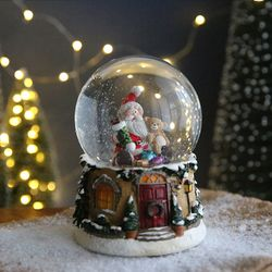 크리스마스 스노우볼 오르골 워터볼L - 산타클로스C -막스(MARKS