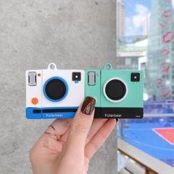 에어팟프로 3세대 아날로그 즉석 카메라 실리콘케이스