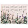 대형 2020 달력 식물 꽃 액자 패브릭 포스터 들꽃