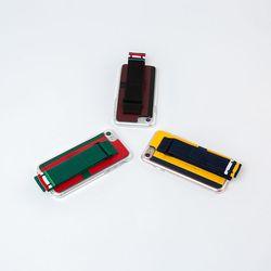 아이폰8 7 스트랩 카드 보호 가죽케이스