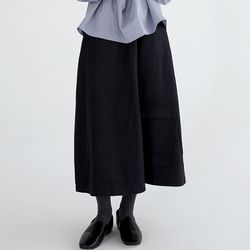 a-line wool skirts (3colors)