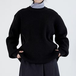 loose warmer knit (4colors)
