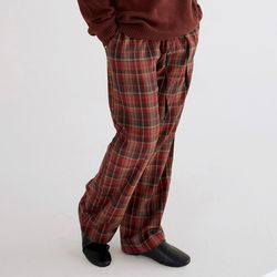 blend check cozy pants (2colors)