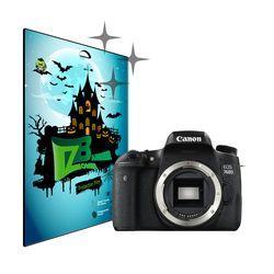 캐논 EOS-760D 올레포빅 고광택 액정 보호필름 각 2매