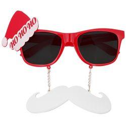 콧수염 산타 안경