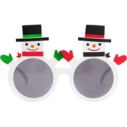 크리스마스 눈사람 안경