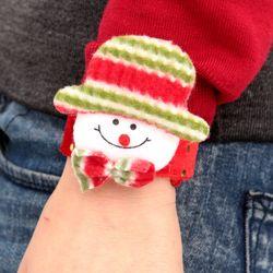 크리스마스 팔찌 눈사람