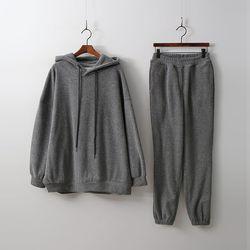 [Set] Warm Hoodie Sweatshirt   Jogger Pants