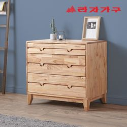 아넥 원목 3단 서랍장 800