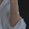 MA Pattern chain Bracelet