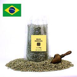 의리커피 생두 브라질 에스메랄다 1kg 1박스 15개