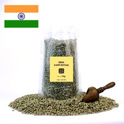 의리커피 생두 인도 카피로얄 1kg 2개세트