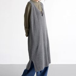 urban v neck dress (3colors)