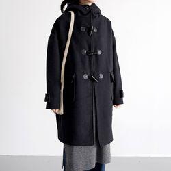 retro duffle coat (navy)