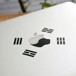 [VENHO] 2-1 태극 스티커 Macbook Old