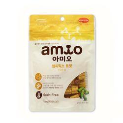 맛있는 강아지간식 아미오 헬씨믹스 트릿 100g(건강한장)