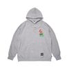 STACK OVERSIZED HEAVY SWEAT HOODIE GREY
