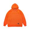 STGM PATCH OVERSIZED HEAVY SWEAT HOODIE ORANGE