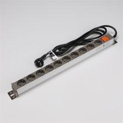 알루미늄멀티코드 고용량 스위치멀티탭 10구 2.5M 16A