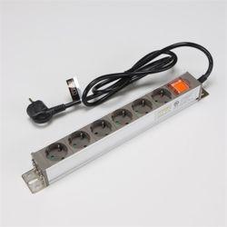알루미늄멀티코드 고용량 스위치멀티탭 6구 1.5M 16A
