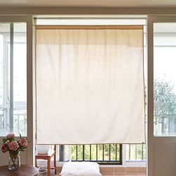 블랭크 광목 작은창 커튼 . 창문가리개  (RM 245001)