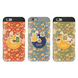 SKINU 그래픽 카드수납 아이폰11(젠더포함)-큐티애니멀