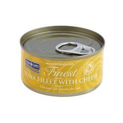 피쉬포캣 캔 70g 참치 치즈 10개 1박스 고양이간식고양이참치