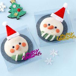 스노우맨비누만들기(4개)크리스마스비누재료